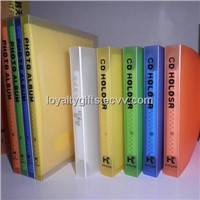 Promotional PP CD Holder/CD Holder/hard pp cover CD Holder