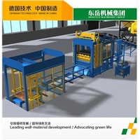 Reliable quality QT10-15 concrete block machine with low price