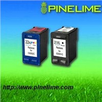 Reman inkjet cartridge for HP21XL/22XL(printer ink cartridge)