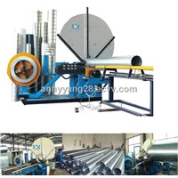 SIX YEARS WARRANTY FACTORY DIRECT SPIRAL DUCT MACHINE
