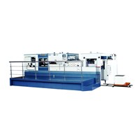 SL-1060MPB automatic die cutting and creasing machine with stripping station