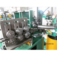 Single locked flexible conduit machine