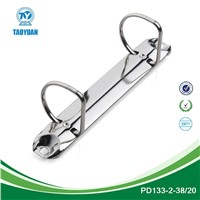 Top pupular 2 ring mechanism&2 round binder clip&nickel clip