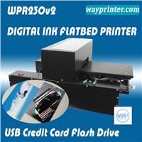 USB Flash Drive Credit Card A4 Flatbed Printer