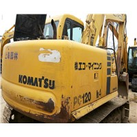 Used Komatus Crawler Excavator PC120-6