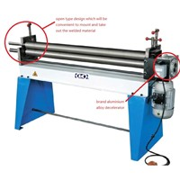 W11G Series Electric Asymmetric Three Roller Bending Machine