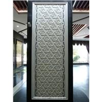 White stone 3d internal wall cladding tile