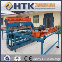 Wire Mesh Fence Making Machine