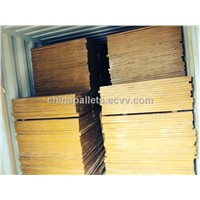 bamboo pallet for brick making machine