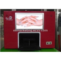 Best Business All Lady's Favorite Nail Art Printer Machine Digital Printing Machine Touch Screen