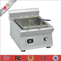 countertop commercial induction deep chip fryer