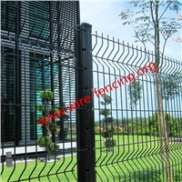 hot dipped galvanized or powder coating welded wire fence