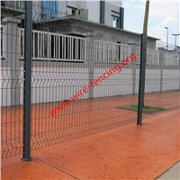 hot dipped galvanized or powder coating welded wire mesh fence