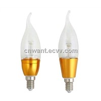 led candle light 3w with CE ,Rohs