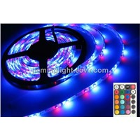 led strip lighting,Multi-color, led light, red, blue, yellow, green warm white/white 5m/lots