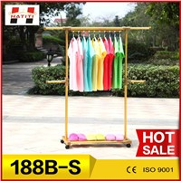 mobile portable clothes drying rack