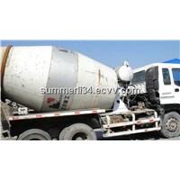 used 9CBM truck mixer Isuzu