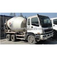 used Concrete Mixer Truck Isuzu