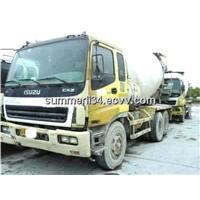 used Isuzu truck mixer