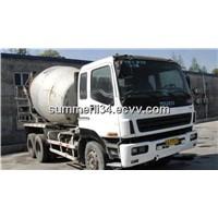 used Isuzu truck mixer 9CBM