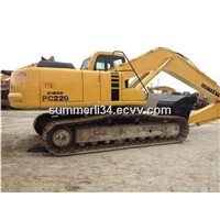 used komatsu PC220-6 crawler excavators