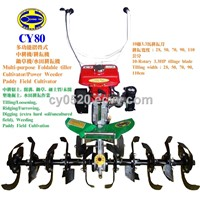 CY80 Multi-purpose Foldable Power tiller