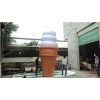 4m 13ft Inflatable Lighted Ice Cream Balloon for Advertising 550W