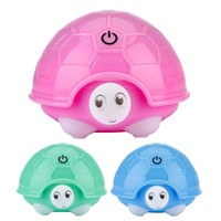 Cute Turtle Humidifier USB Air Diffuser Atomizer Mini Portable Air Humidifier Colorful Night Light For Home Decor Kids Gift