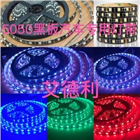 12v LED strips light with 5050 waterproof 60 light blackboard light band White warm red yellow, green, blue  5m