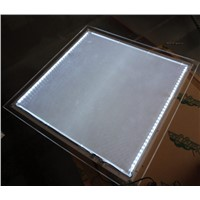 Shop wall led illuminated menu board,crystal frame light box