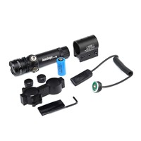 Tactical Green Laser Sight Dot Adjustable Rifle Scope With Rail Mount For Hunting Remote Switch