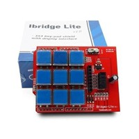 3x3 Keypad Shield  5110 LCD Display Board 3.3v 5v