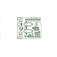 Duel Step Motor Driver Shield For Open Source IO PWM CNC 3.3v 5v