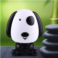 Pretty Cute Rabbit Dog Cartoon Animal Night Light Baby Room Sleeping Light Bedroom Desk Lamp Night Lamp Best for Gifts