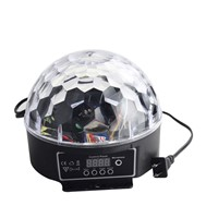 BestFire RGB DMX512 Digital Crystal Magic Ball Stage Light Projector Effect LED Light KTV mini lase