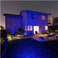 Motion Blue Christmas Outdoor Holiday Laser Lights Projector Christmas Tree Decorations