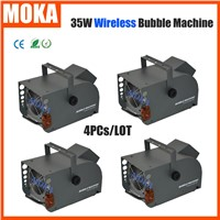 4PCs/LOT 35W Motorized Bubble Machine Mini Bubble machine Effect Bubble Machine Automatic Bubble Machine