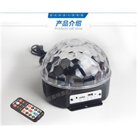 18W Bluetooth MP3 magic crystal ball ktv disco disco colorful laser stage lighting Sound LED big magic ball