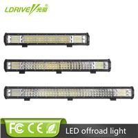21 Inch 288W 26 Inch 360W LED Work Light Bar Tri-Row Car LED Combo Beam Fog Lamp For Off Road Trucks ATV 4x4 4WD For Ford Jeep