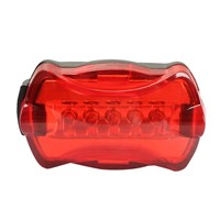 Super Bright Bicycle LED Rear Lamp Tail Back Light 6 Flash Modes Waterproof Bicycle LED Light NG4S