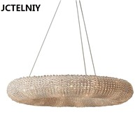 Luxury american style crystal pendant light circusy lamps Can be customized size Used in the sitting room the hotel lobby