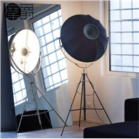 Floor Lamp with Reflector