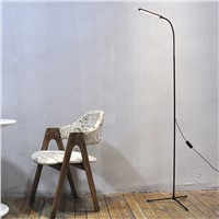 Modern Simple 8W LED Floor Standing Lamp Bedside Floor Lamp Brightness Standing Floor Light Reading Lamp Piano Lamp