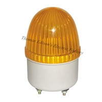 AC 220V LTE-2071 mini traffic sign strobe flash light Bulb emergency warning light siren light