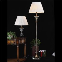 1.6M European - style Delicate K9 crystal floor lamp home accessories lights hotel rooms floor lamps