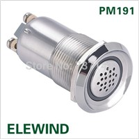19mm buzzer with light(PM191B-SM/R/24V)