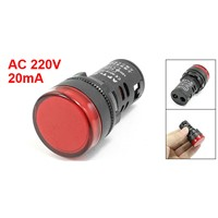 Ac 220V 20Ma Screws Connection Led Signals Light Lamp Red Ad16-22D/S