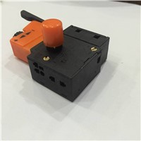 5E4 AC 250V 4A Speed Control Lock On Trigger Switch SPST for Electric Drill