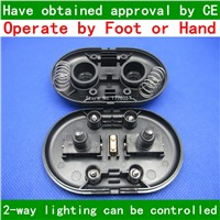 325 double button table lamp picture lights switch foot switch line switch pedal led floor lamp switch