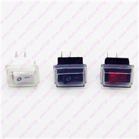 12PCS 10 X 15mm 2PIN SPST ON/OFF Boat Rocker Switch 6A/250V 10A/125V Seesaw Switch For Dash Dashboard Truck RV ATV Home